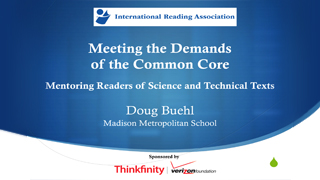 Meeting the Demands of the Common Core: Mentoring Readers of Science and Technical Texts