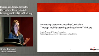 Increasing Literacy Across the Curriculum Through Mobile Learning and ReadWriteThink.org: How Verizon Foundation Is Transforming Education