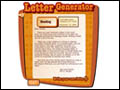 read write think letter generator Students will write pen pal letters from a new point of view you need read write think letter generator let's write a letter (friendly or business.