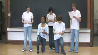 Video example of choral reading
